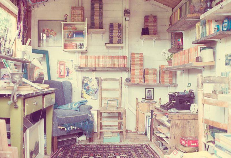 Gartenhütten bringen Inspiration, deswegen eignen sich perfekt für Arbeitsbereich