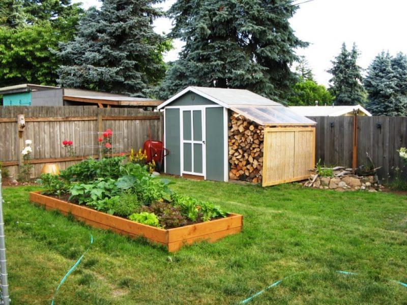 Gartenhütten Ideen