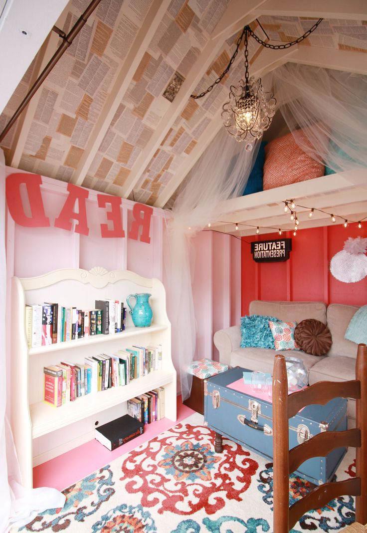 Gartenhütten sind der perfekte Ort für Buchleser