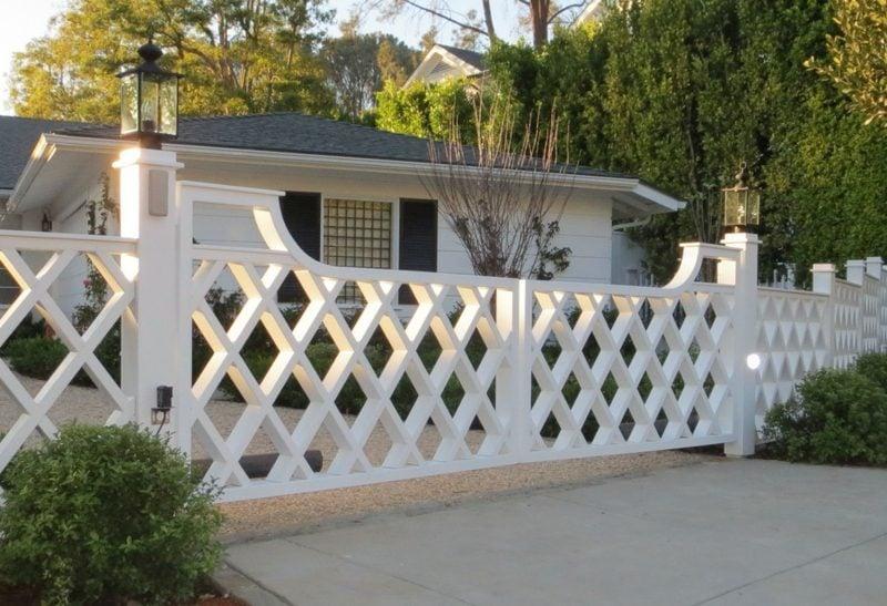 gartentor holz driveway gates