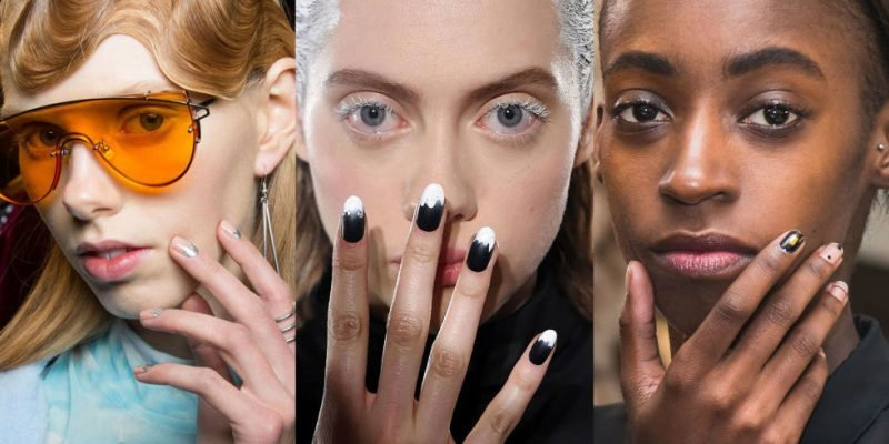Gelnägel Winter Trends Nagellack 2017