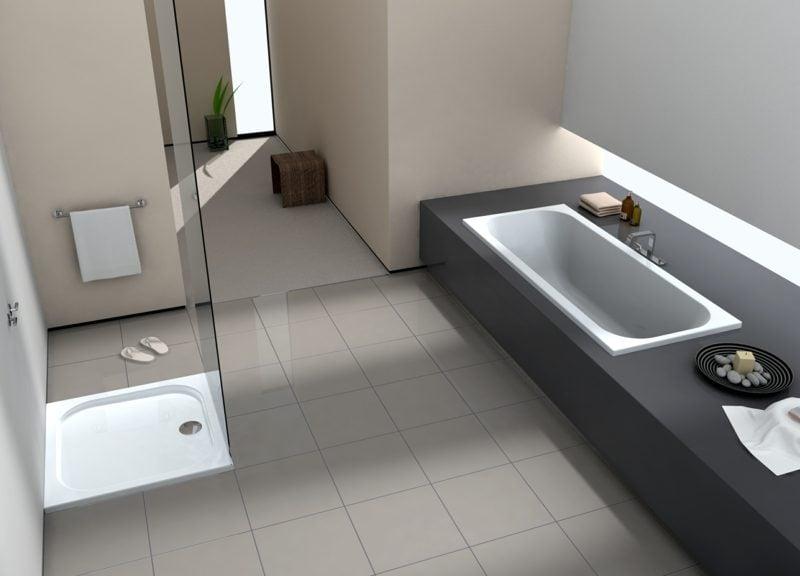 gemauerte Dusche Badgestaltung