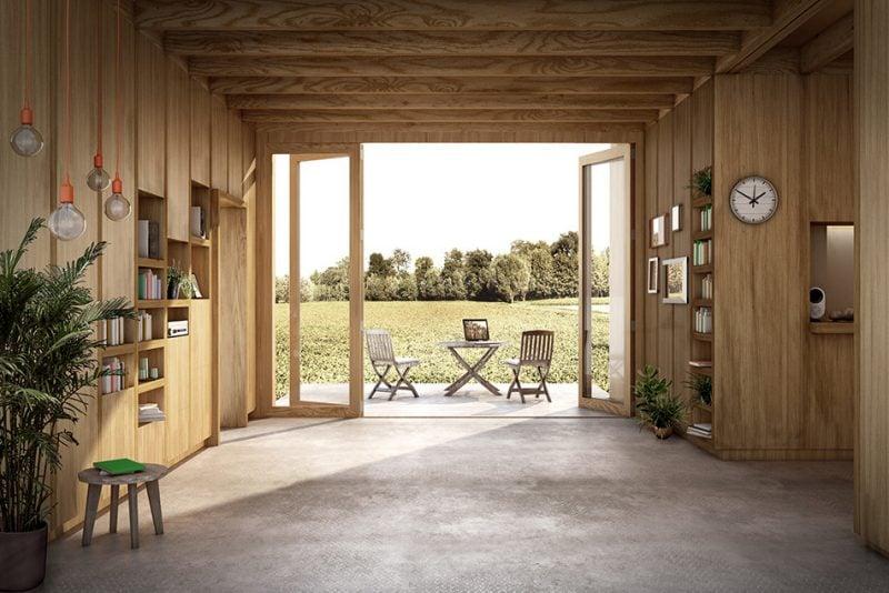 Fertighaus holz design  Holz Fertighaus: 21 umweltschonende Ideen - Architektur ...
