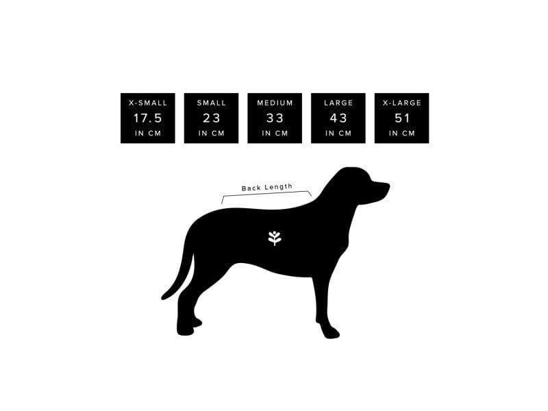 Hundepullover stricken: Masstabelle