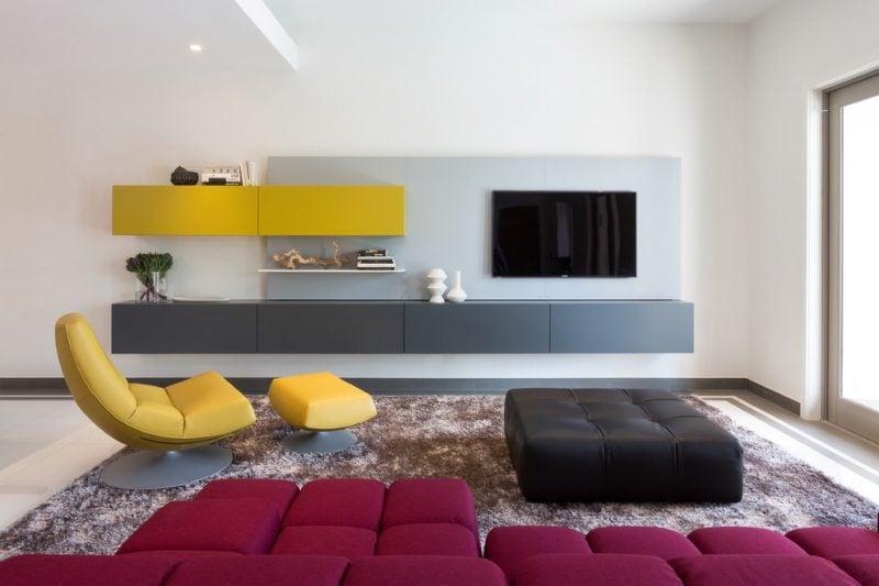 Bringen Sie mehr Farbe bei Ikea Besta Regal