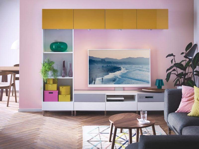 Ikea Besta Regal: jedes Stück kann verschiedene Farbe haben