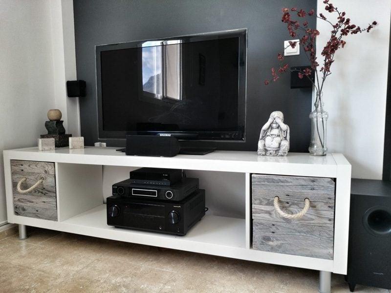 Ikea Besta Regal als TV Schrank