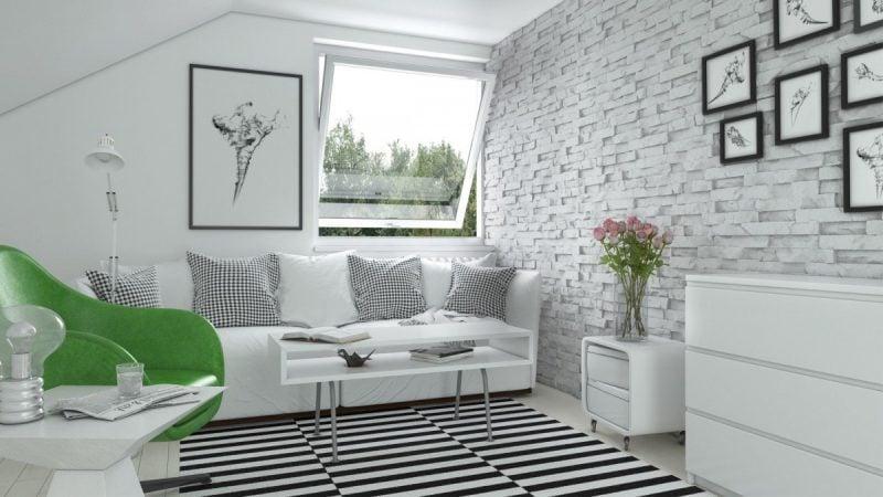 Innen steinwand 22 elegante ideen zur gestaltung deko - Steinriemchen wohnzimmer ...