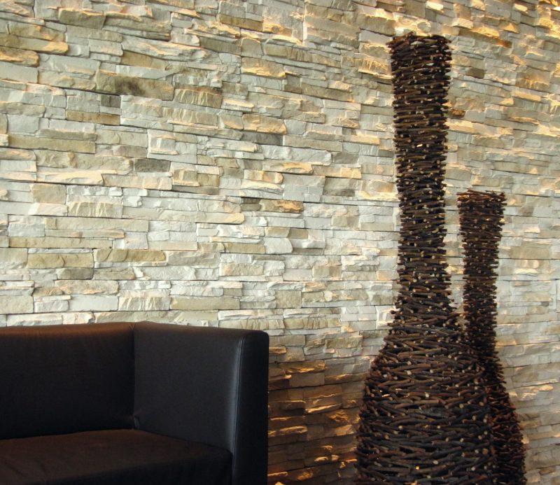Innen steinwand 22 elegante ideen zur gestaltung deko feiern innendesign zenideen - Styropor steinwand wohnzimmer ...