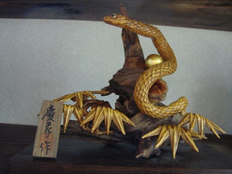 Japanische Sternzeichen: Handwerk Schlange