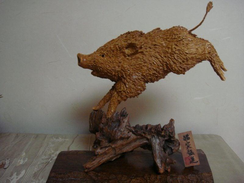 Japanische Sternzeichen: Handwerk Schwein