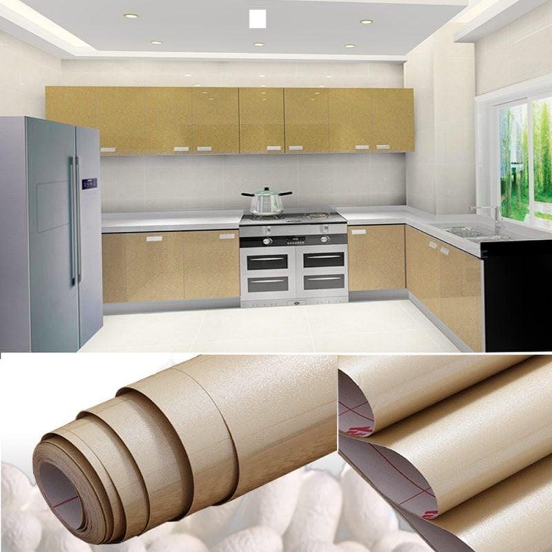 küchenfronten bekleben creme