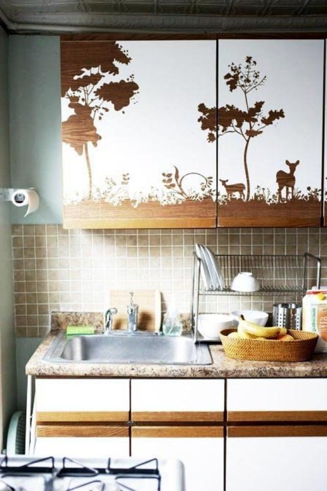 küchenfronten bekleben interessant