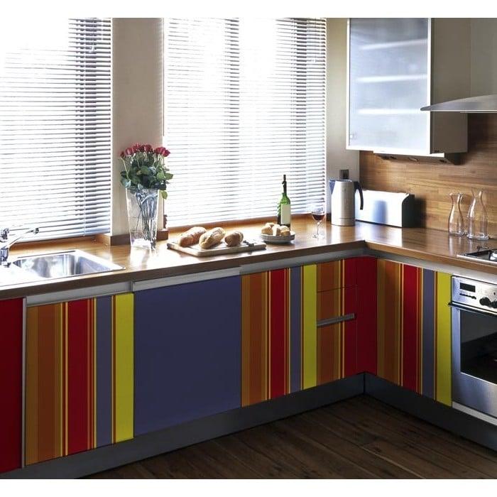 küchenfronten bekleben frisch