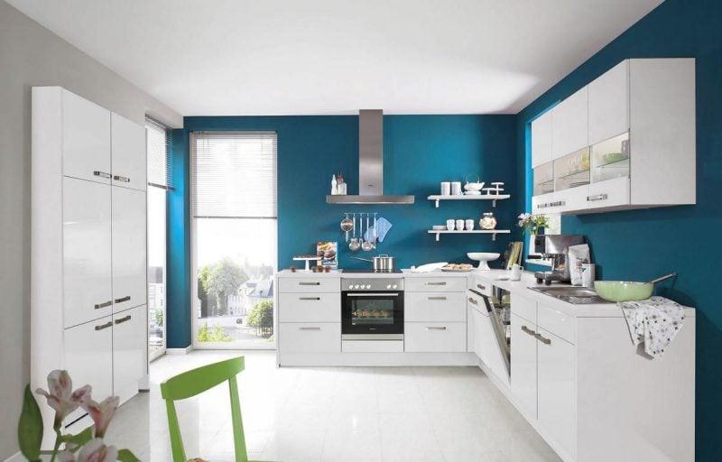 küchenfronten bekleben weiß