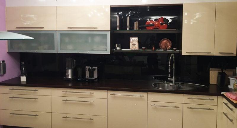 küchenfronten bekleben hell