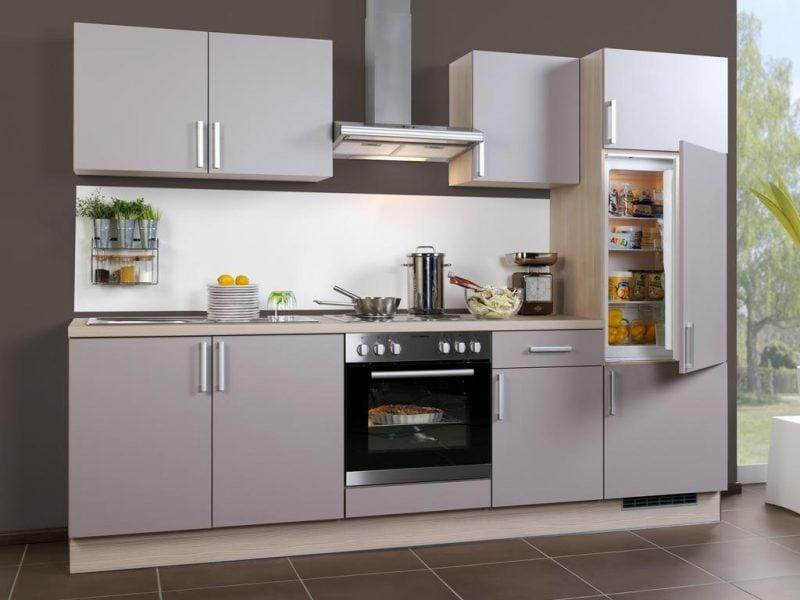 küchenfronten bekleben mattiert