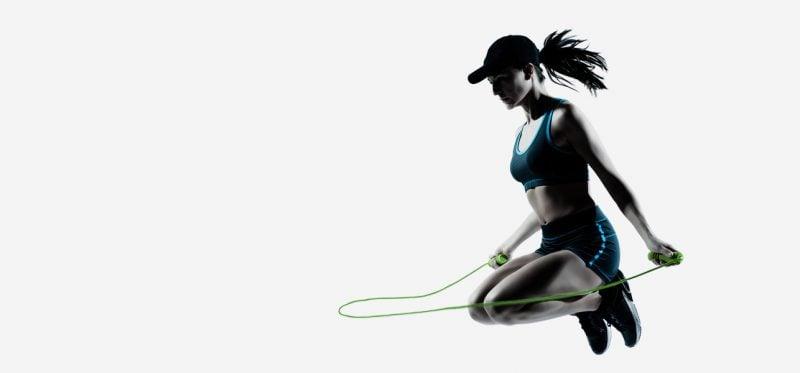 Kalorienverbrauch mit Seilspringen für Fortgeschrittene