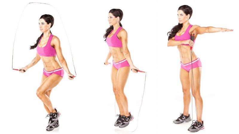 Kalorienverbrauch mit Seilspringen Tutorial