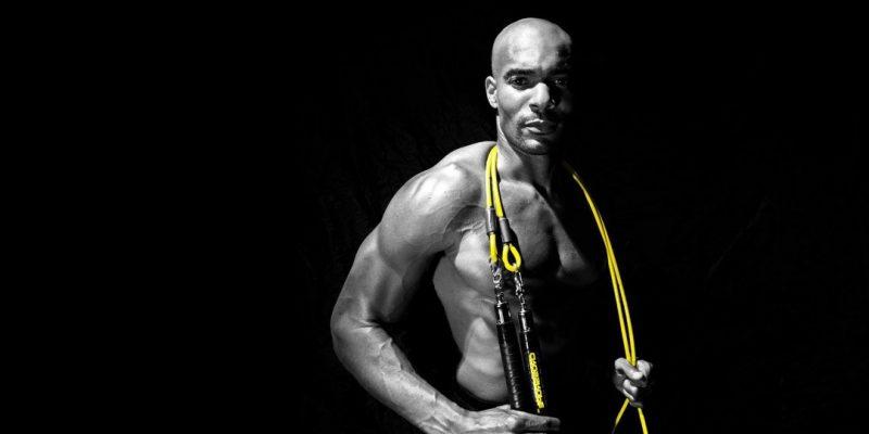 Kalorienverbrauch mit Seilspringen: Die Fortgeschrittene verwenden ein Seil aus Stahl