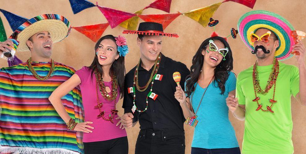 mexikanische karneval gruppenkostüme