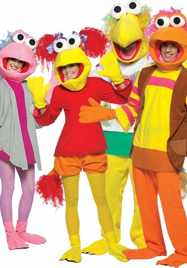 karneval gruppenkostüme sesam straße