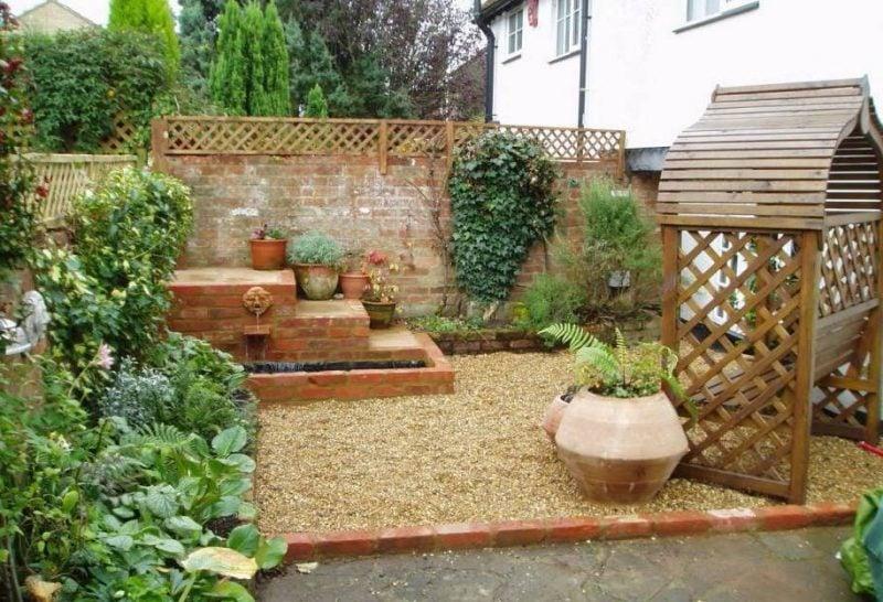 Kiesgarten anlegen um eine Entspannungsecke zu gestalten