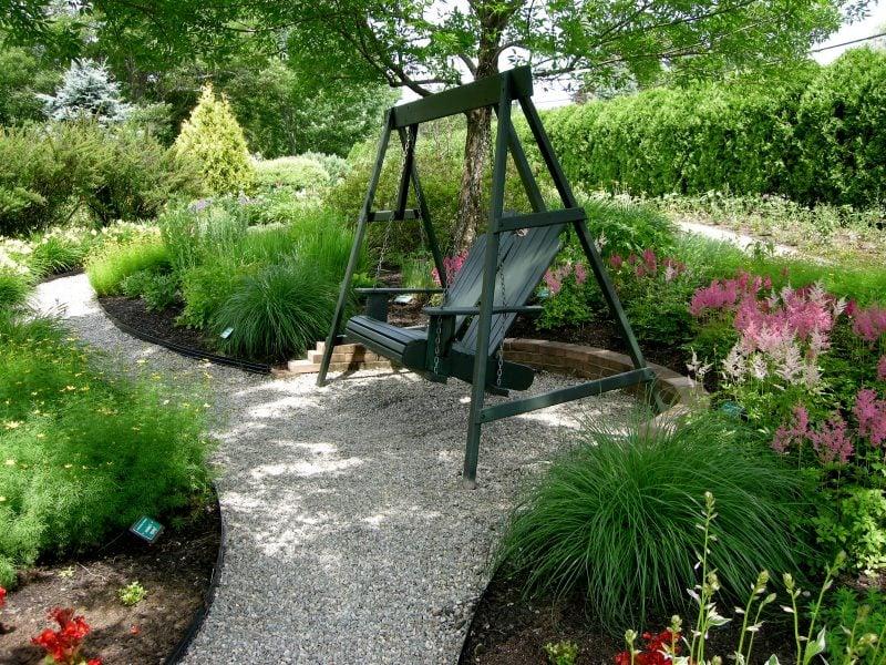 kiesgarten anlegen vordergarten beste garten. Black Bedroom Furniture Sets. Home Design Ideas