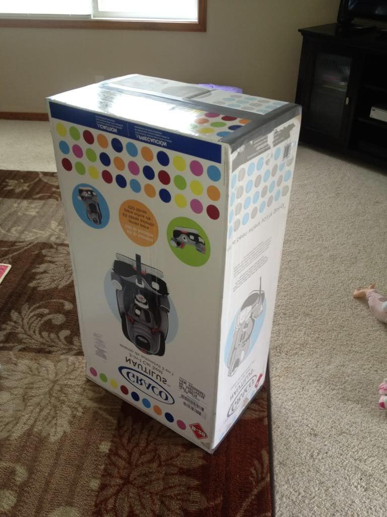 Kinderküche selber bauen Anleitung - nehmen Sie einen Karton