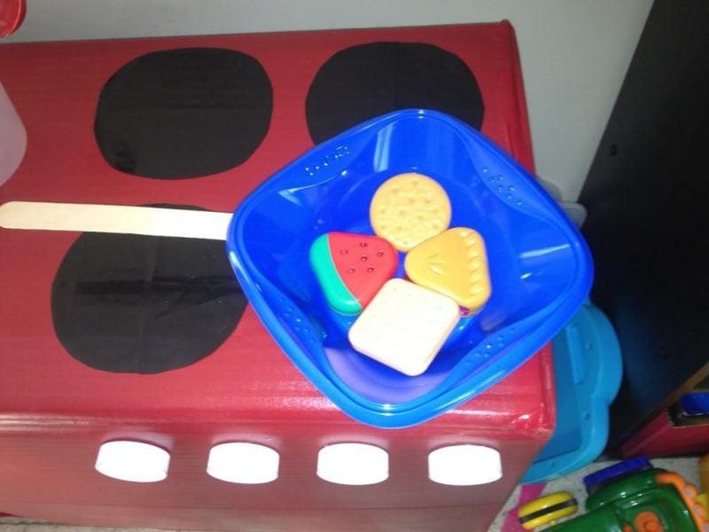 Kinderküche selber bauen Anleitung - Schritt 8