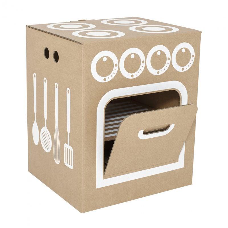 Kinderküche selber bauen: Backofen