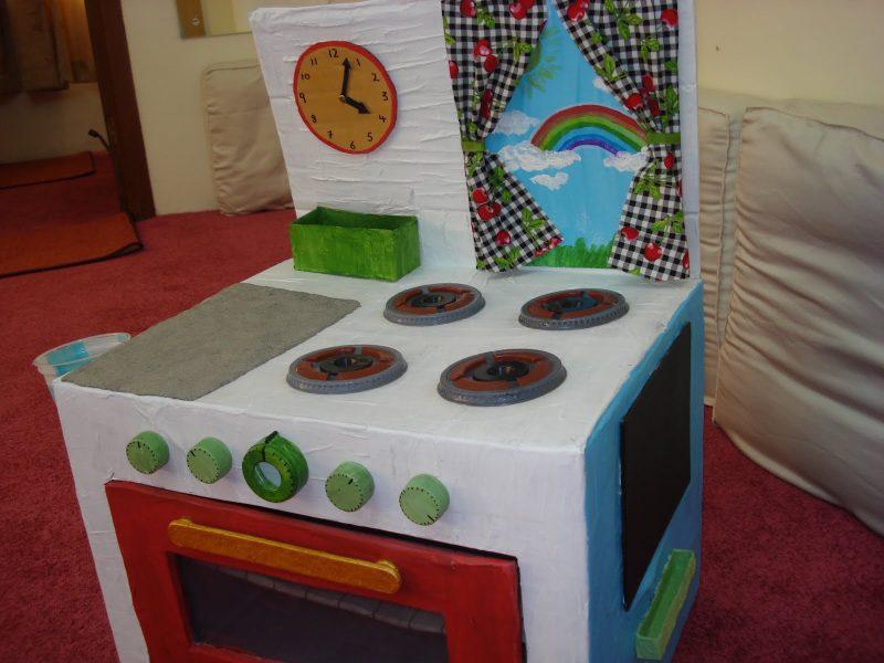 DIY Projekt Kinderküche selber bauen