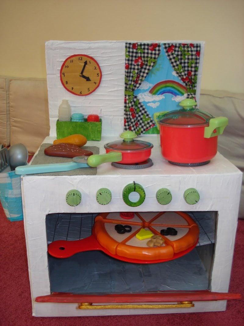 Ideen für Kinderküche selber bauen