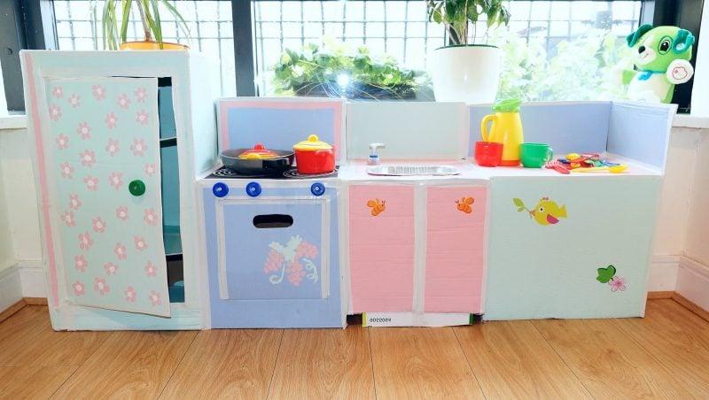 Für Ihr Kind Kinderküche selber bauen