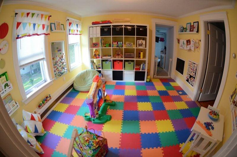 Kinderzimmerteppich fürs ganze Zimmer