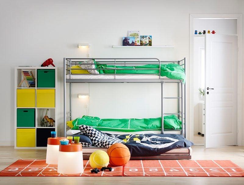 Kinderzimmerteppich mit Ziffern