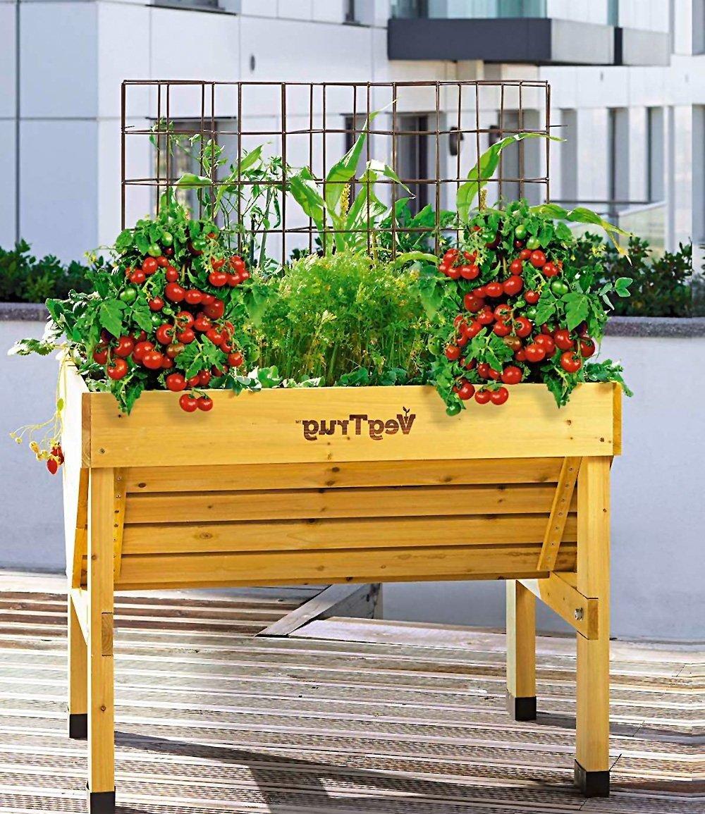 kr uterhochbeet 23 erfrischende beispiele f r einen bio garten balkon gartenarbeit zenideen. Black Bedroom Furniture Sets. Home Design Ideas