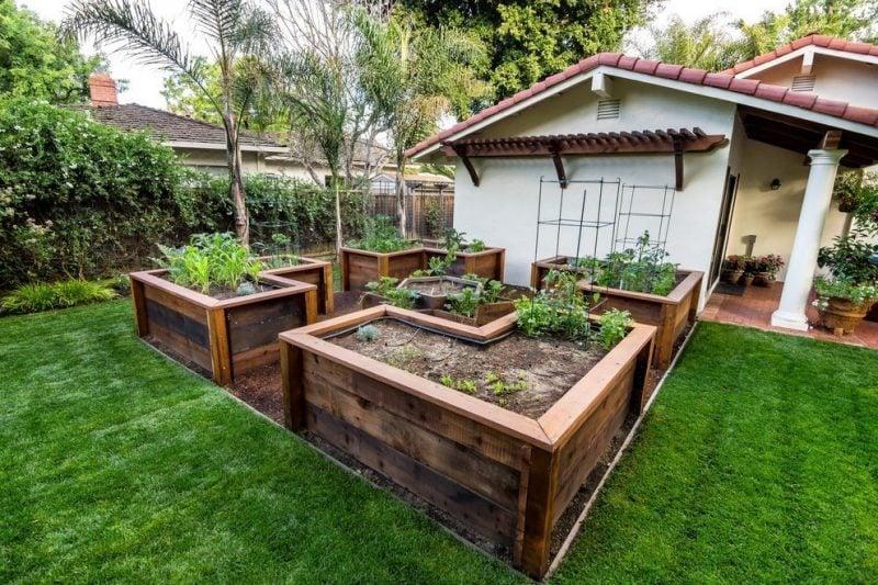 Kr uterhochbeet 23 erfrischende beispiele f r einen bio L shaped garden designs images