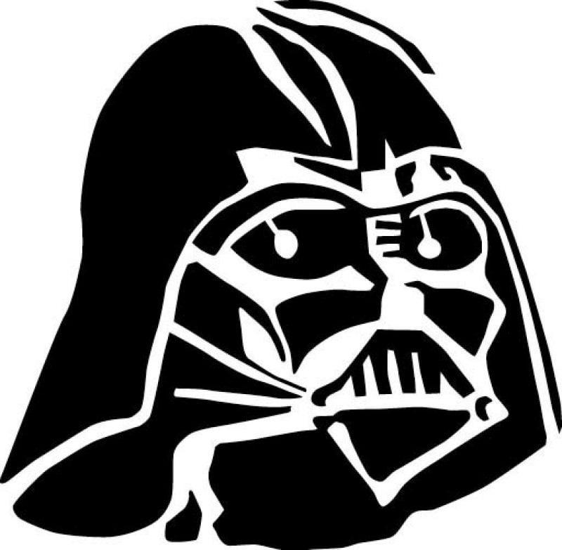 Kürbis Vorlagen von Star Wars