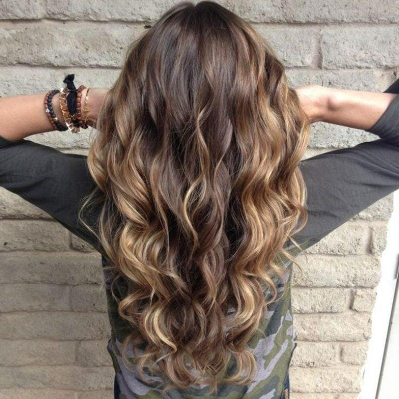 lange Haare färben nach dem Mondkalender kreative Ideen