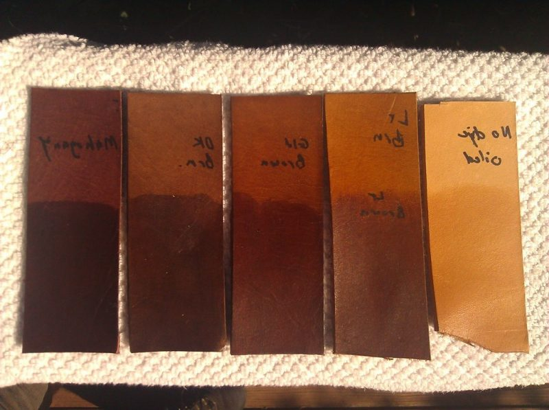 Leder färben - Wählen Sie die richtige Farbe