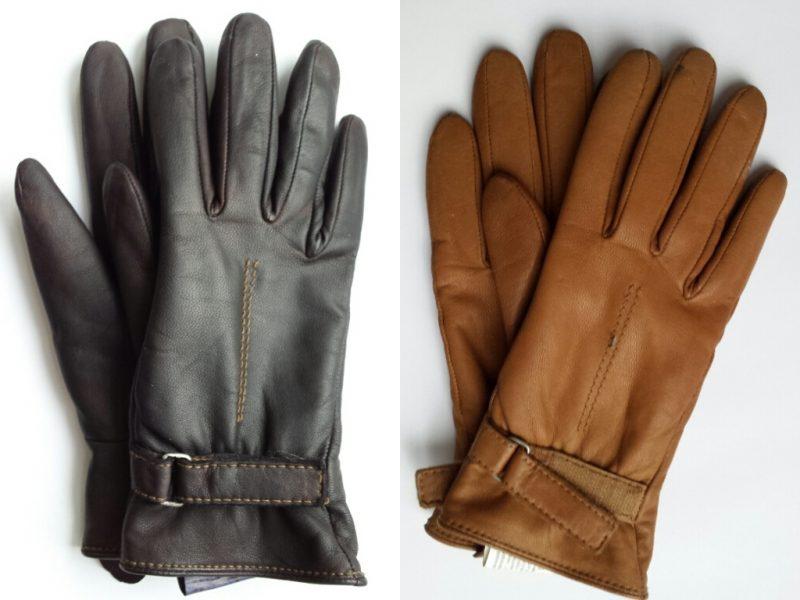 Die Schwarze Handschuhe können brauch mit Leder Färben sein