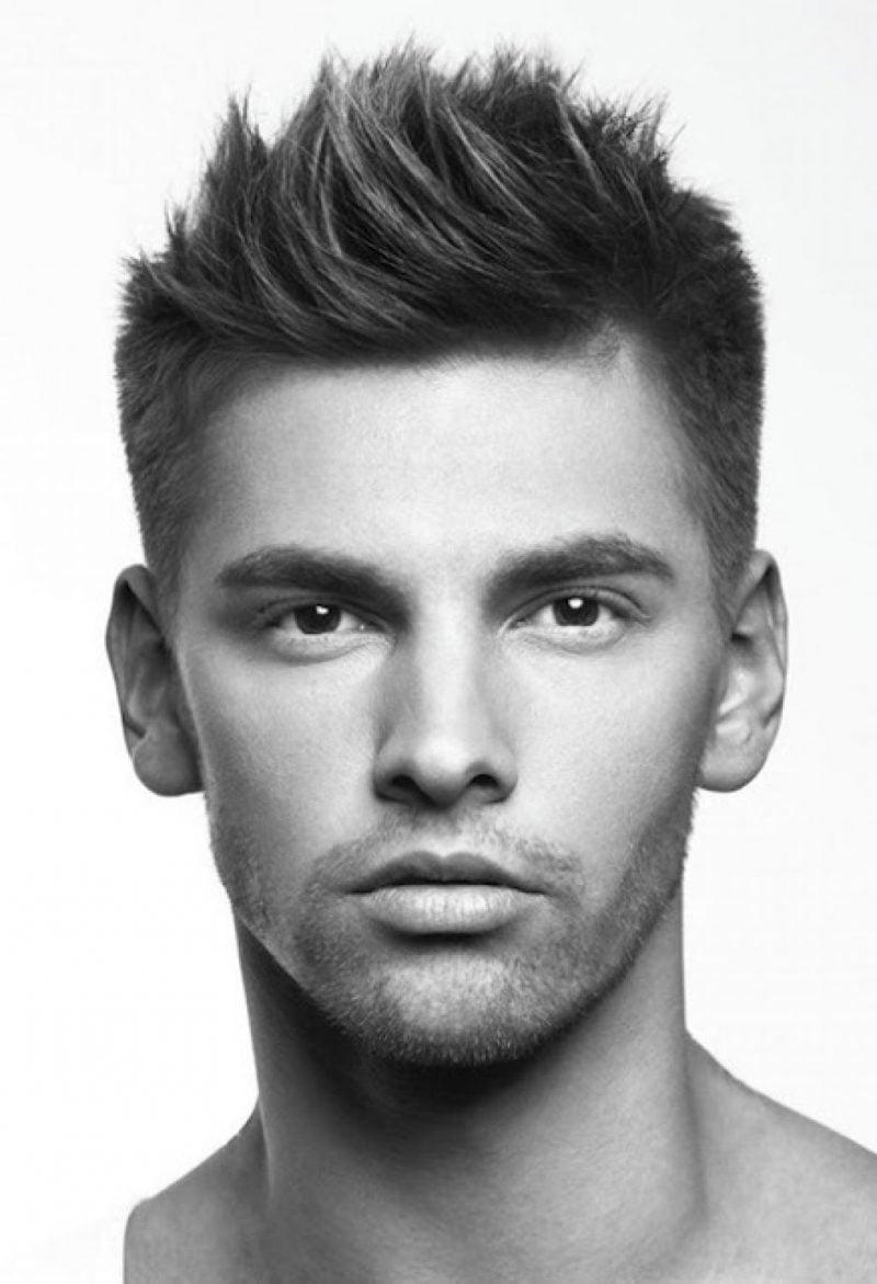 Männer Kurzhaarfrisuren 2015 für dicke Haare