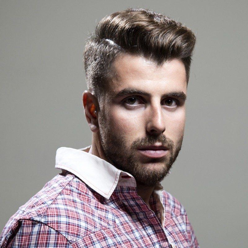 Männer Kurzhaarfrisuren 2015 Sidecut