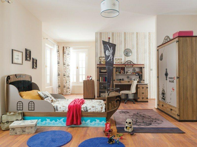Kinderbett mitwachsend Piratenschiff Jungenzimmer