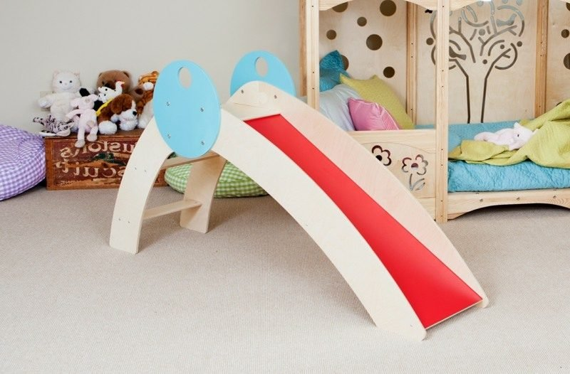 Kinderbett aufbauen Rutsche