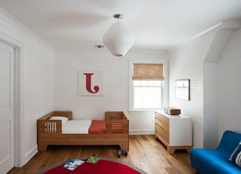 Kinderbett mitwachsend Naturholz