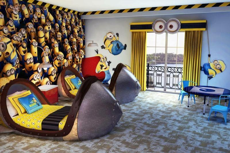 Kinderbett mitwachsend Disney Filmen