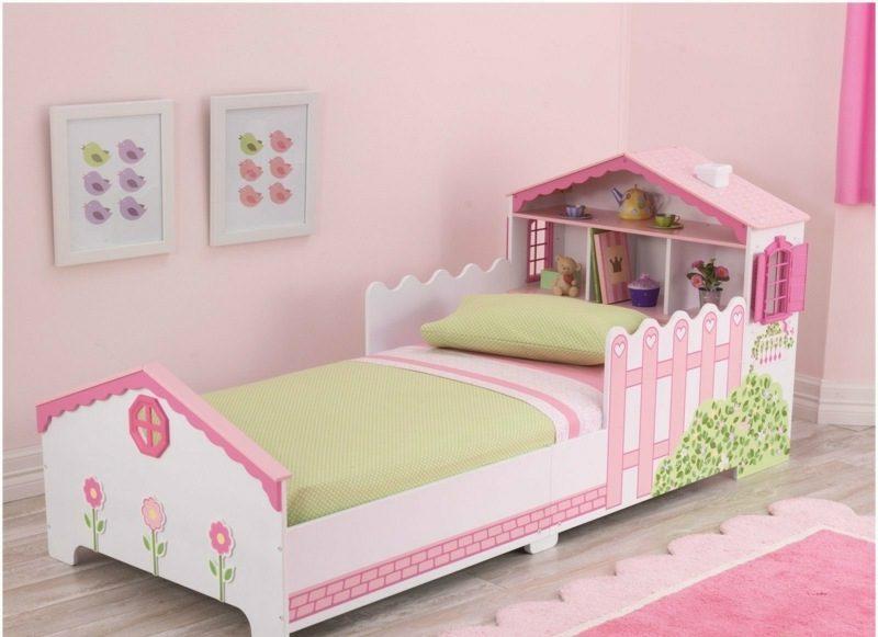 mitwachsendes Kinderbett Puppenhaus Mädchen