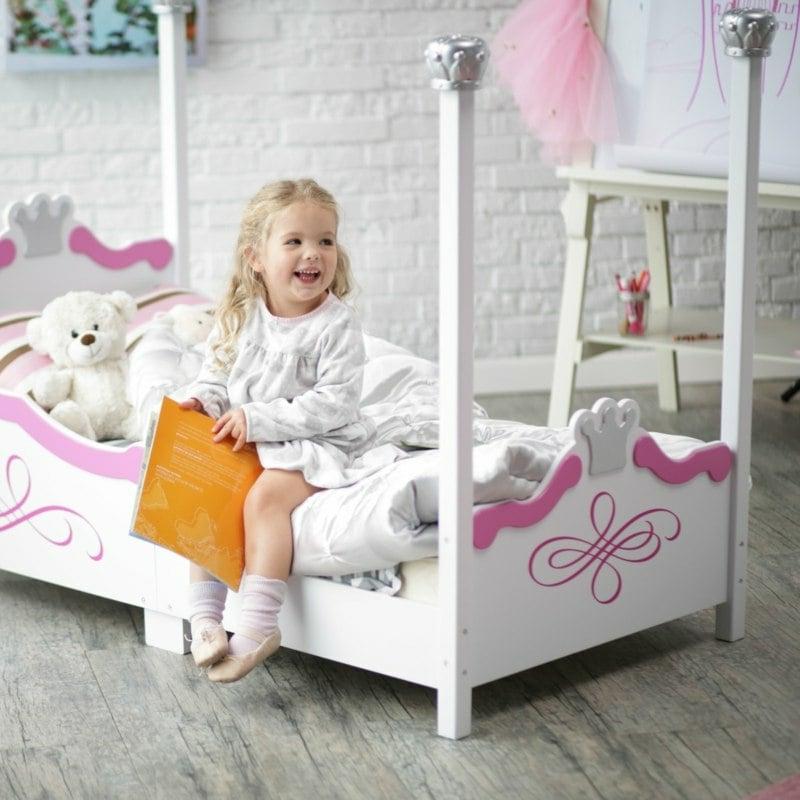 mitwachsendes Kinderbett Mädchen